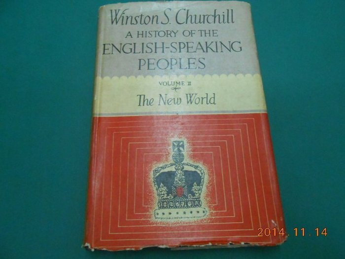 ~HISTORY OF THE ENGLISH~SPEAKING PEOPLES VOLU