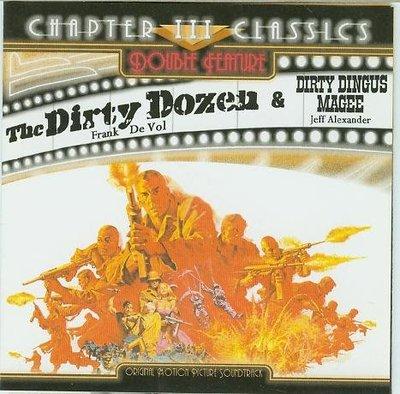 """""""決死突擊隊(Dirty Dozen/ Dirty Dingus Magee)""""- Frank De Vol,全新美版"""