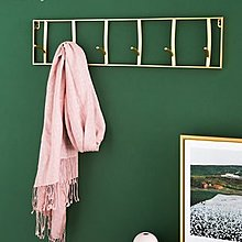 法慕小城北歐創意鑰匙玄關掛鉤牆壁家用門後掛衣帽鉤架壁掛牆上