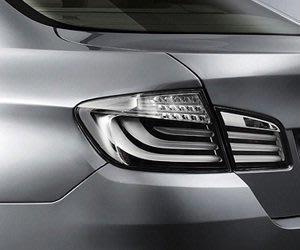 BMW 原廠 F10 LED 尾燈 白色尾燈 透明尾燈 銀白色尾燈