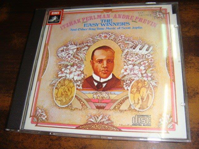 好音悅 帕爾曼 Perlman 普列文 Previn 喬普林 Joplin The Easy Winners EMI