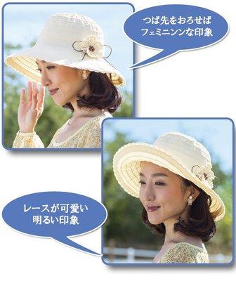 日本防曬帽 輕量可折疊 日本防紫外線抗...