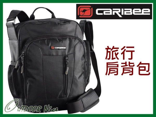 澳洲CARIBEE DEPARTURE BAG 旅遊休閒肩背包 黑色 CB-1229 OUTDOOR NICE