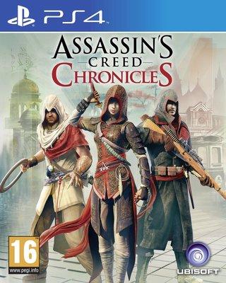 全新未拆 PS4 刺客教條:編年史三部曲 中文版 Assassin's Creed: Chronicle