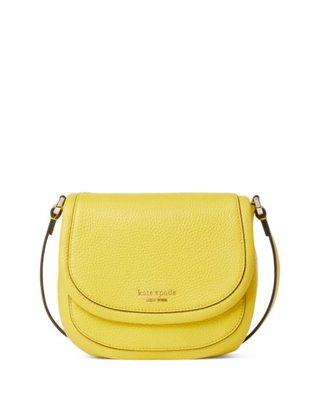 kate spade new york Roulette Small Pebble Leather Saddl2/28止