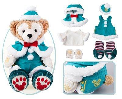尼德斯Nydus~* 日本東京迪士尼海洋限定 達菲熊 Duffy 聖誕節限定版 冬裝 現貨