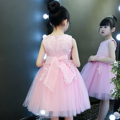 女童洋裝夏裝公主裙童裝女孩韓版夏季兒童禮服洋氣裙子