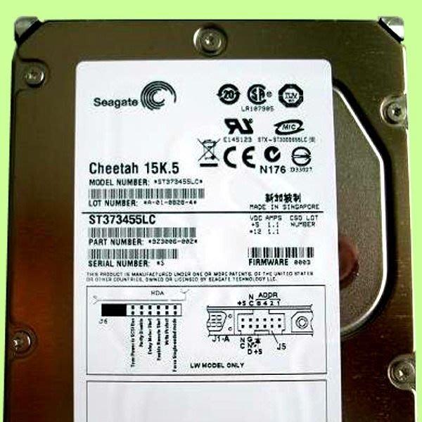 5Cgo【權宇】希捷企業級 SEAGATE ST373455LC ULTRA320 15K.5 73GB SCSI 含稅