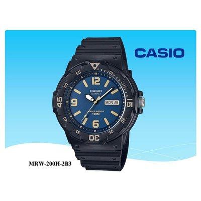 【CASIO】手錶 經緯度鐘錶 卡西歐手錶 酷炫 潛水風100米防水 學生 當兵【特價690】MRW-200H-4B 橘