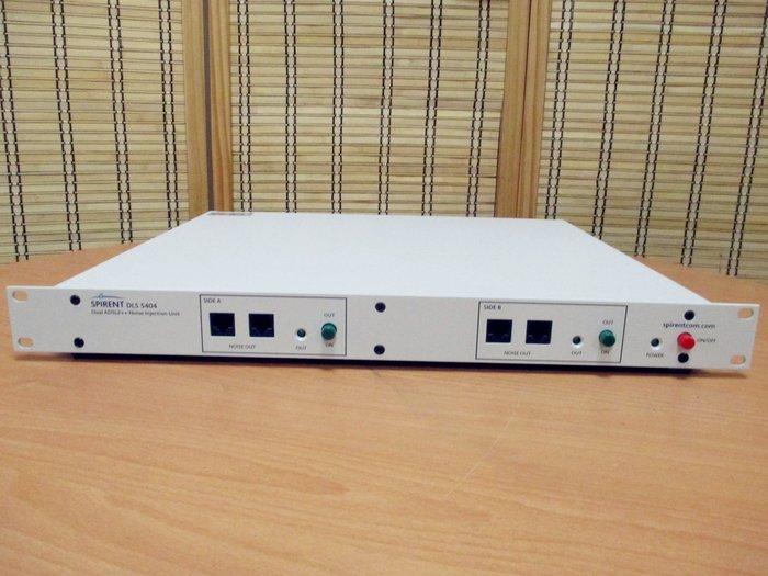Spirent DLS-5404 (DLS5404) Dual ADSL2++ Noise Injection Unit