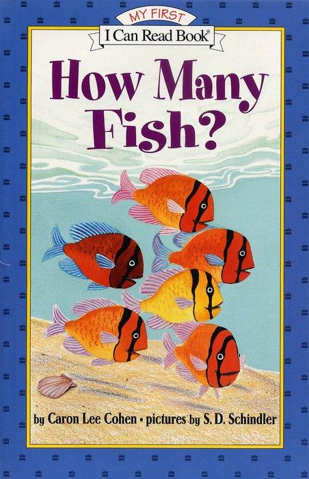*小貝比的家*HOW MANY FISH? /MY FIRST/平裝/3~6歲