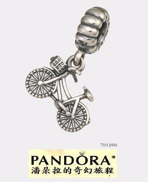 潘朵拉我最便宜{{潘朵拉的奇幻旅程}} PANDORA - Hanging Bicycle 腳踏車 791266