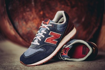 NEW BALANCE 996 MRL996NF NB 灰藍紅 麂皮 經典 復古 慢跑鞋 余文樂 男女鞋