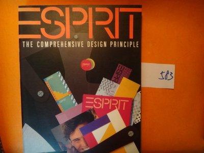 【愛悅二手書坊 O-10】ESPRIT THE COMPREHENSIVE DESIGN PRINCIPLE