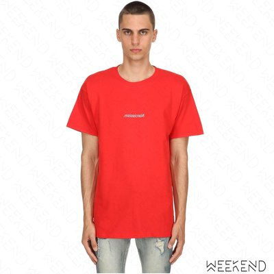 【WEEKEND】 FUCK ART MAKE TEES FAMT Narcissism 短袖 上衣 T恤 紅色