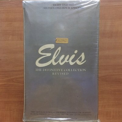 DVD Elvis Presley Elvis:The Definitive Collection 25th Anniversary Revised 8 DVD