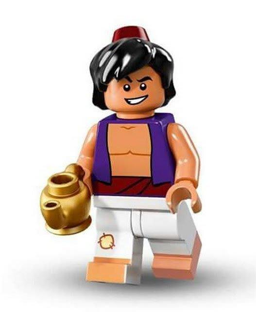 現貨【LEGO 樂高】Minifigures人偶系列: 迪士尼Disney 人偶包抽抽樂71012 | 阿拉丁