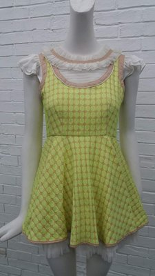 娃娃80M黃色洋裝特價980元含運費