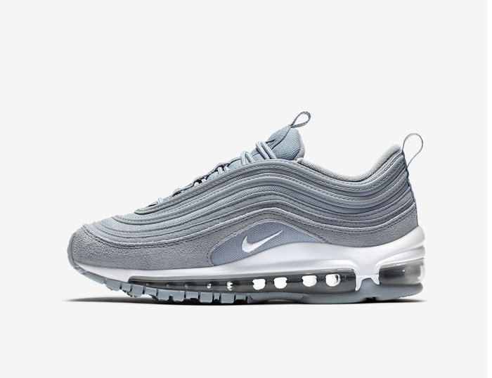 【Cheers】Nike Air Max 97 藍色 水藍色 限定 麂皮 氣墊 老爹鞋 女鞋 BQ7231-401