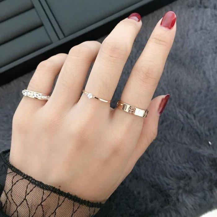 YEAHSHOP 韓國網紅戒指時尚潮人誇張戒指女Y185