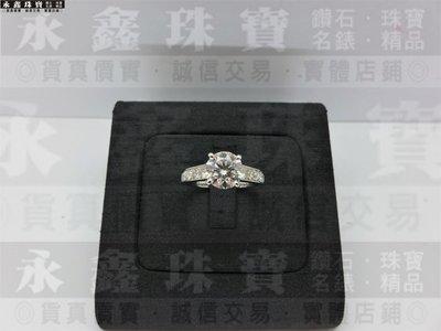 GIA天然鑽石戒指 1ct I/VVS2/3EX  18K 卡地亞1895款 全新訂製款 n0637鑽