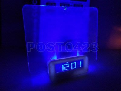=傾奇電= MESSAGE BOARD CLOCK留言板時鐘 LED顯影板 年月日/時鐘/溫度/鬧鐘/留言提示