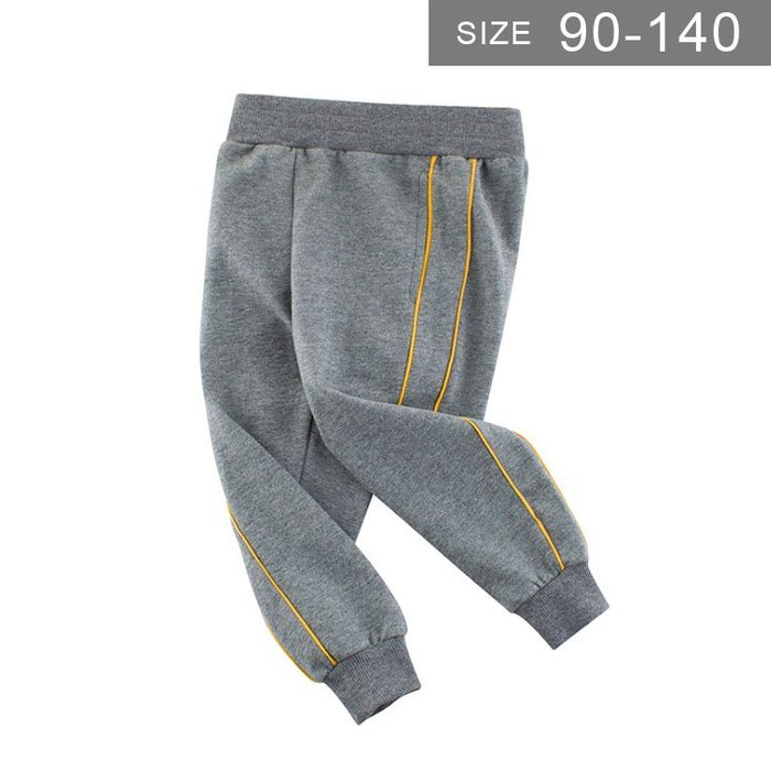 男童運動褲。ROUROU童裝。春秋男童中小童100%純棉運動褲長褲 0132-443