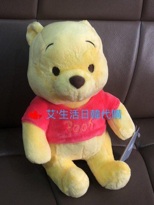 代購現貨  日本東京迪士尼毛絨小熊維尼玩偶