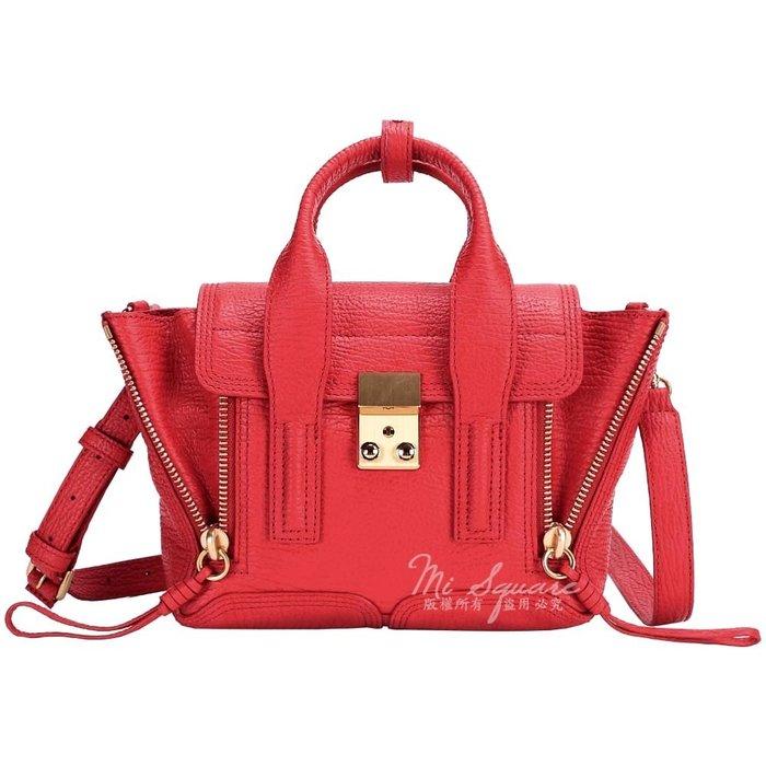 米蘭廣場 3.1 Phillip Lim Pashli mini 紅色牛皮兩用提包 1410056-54