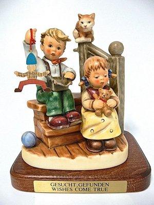 "Goebel Hummel Figurine ""Wishes Come True"" #2025A TMK 8"