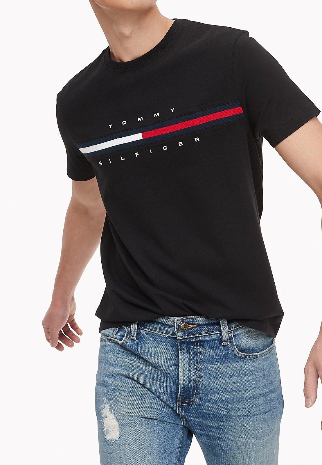 【TH男生館】☆TOMMY HILFIGER短袖T恤/熱銷款【TOM001D6】(XS-S-M-L-XL)