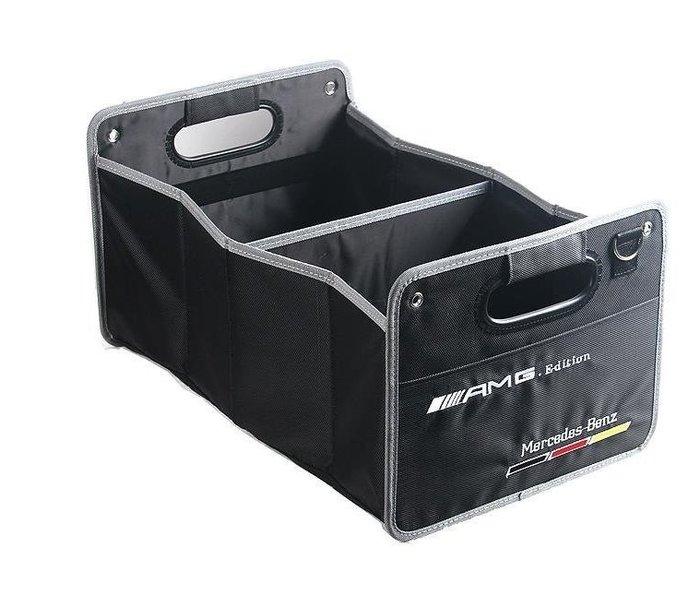 House and Home✘賓士BENZ AMG 汽車車用折疊包折疊箱置物箱 奔馳車用後備箱儲物包收納箱 收納盒 收納
