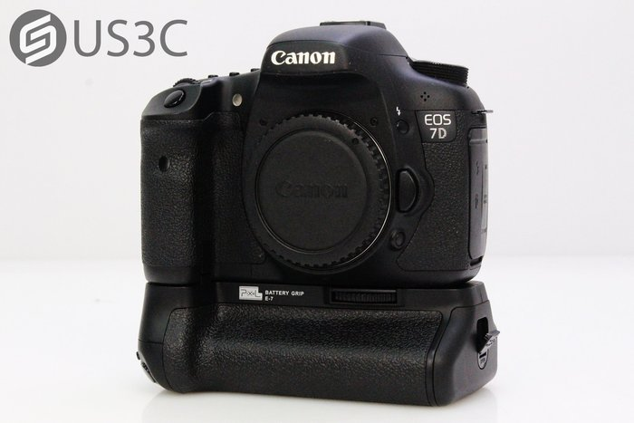 【US3C】佳能 Canon 7D Body 單機身 單眼相機 高階單眼 附副廠電池手把