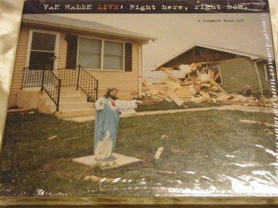 范海倫 Van Halen Live: Right here, Right Now. 2CD 全新