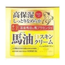 日本原裝 Loshi EX 高保濕 馬油面霜 4936201100842