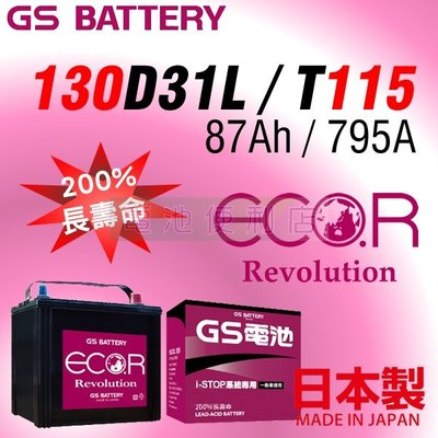 [電池便利店]日本原裝進口 GS EC...