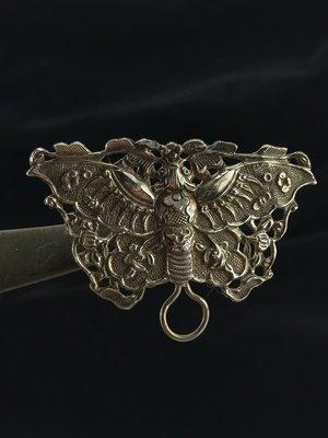 「糖巷老銀飾」大蝴蝶縫綴件