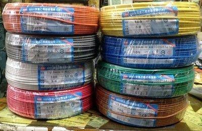 《小謝電料》自取 太平洋 電線 PVC 1.6 單芯線 各色 格  現在銅價波動劇烈 請先詢問