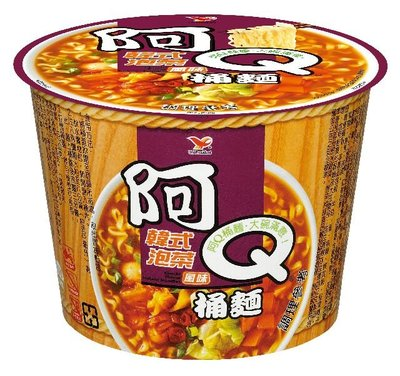 阿Q桶麵_韓式泡菜風味