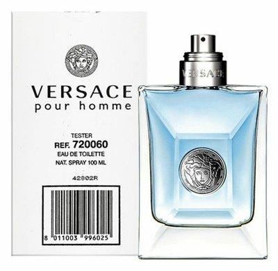 Versace Pour Homme 凡賽斯經典男性淡香水tester/1瓶/100ml-公司正貨