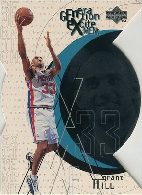 (T)完美先生 Grant Hill 1996-97 UD Generation Excitement