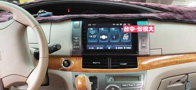 俗很大~JHY-M3PRO豐田TOYOTA PREVIA /9吋專用機/導航/藍芽/USB(PREVIA實裝車)