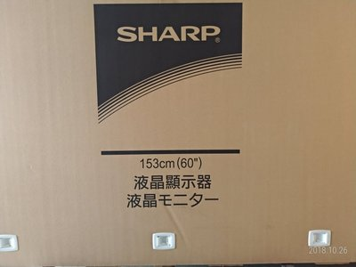 SHARP 日本製 夏普 60吋4K 液晶電視 LC-60UA6800T 貨到付款+安裝 另售LC-60UA6500T