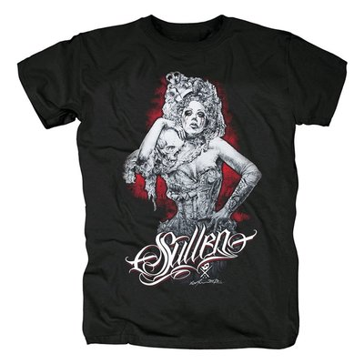 Sullen Art 沉浸的藝術 銀魂死核 硬核 潮牌音樂紀念Pray 人物t恤