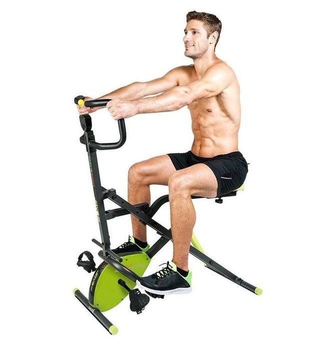 【Fitek 健身網】拉力馬+健身車☆全身運動健腹健身車☆手部、腿部、腹肌、腰部運動☆折疊式磁控健身車