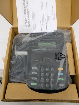 Nortel 1210 IP phone, New In Box