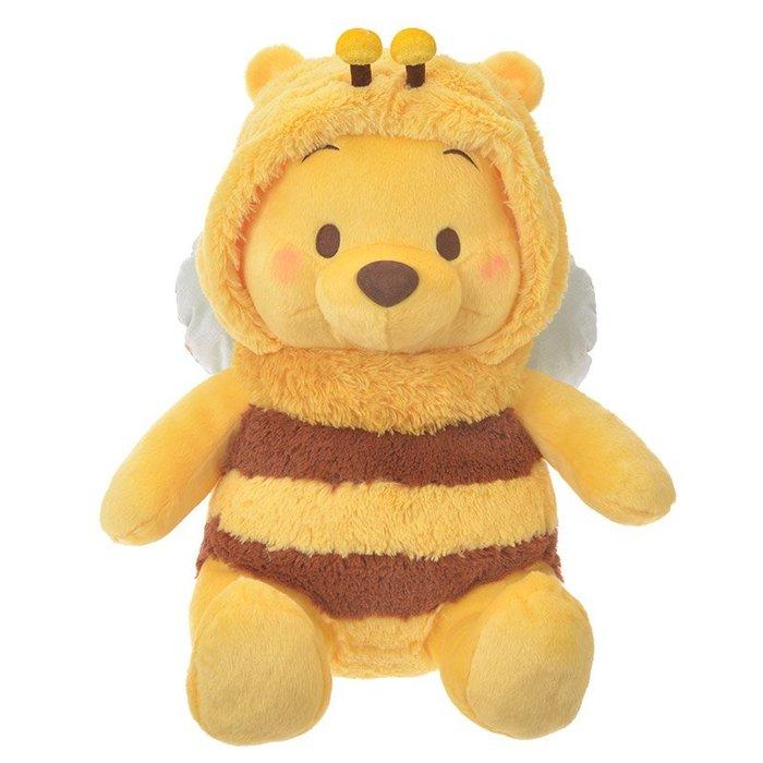代購現貨 日本迪士尼 蜜蜂維尼玩偶