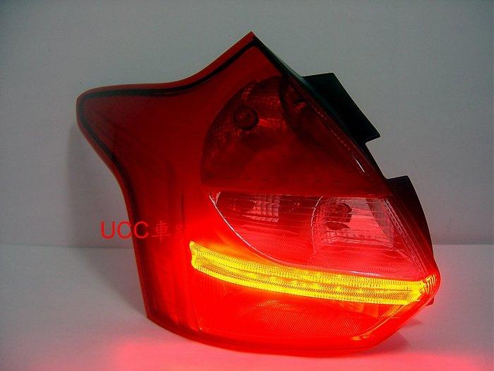 【UCC車趴】FORD 福特 FOCUS 12 13 14-16 MK3 5D 原廠型 LED尾燈 TYC製一邊2000