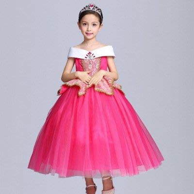 【衣Qbaby】萬聖節造型服裝派對角色扮演表演服睡美人愛洛公主禮服