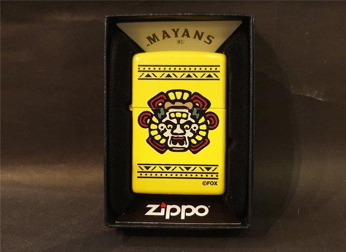 ONE*$1~美系*ZIPPO*Mayans M.C『瑪雅人MC 』檸檬黃*彩印*編號:49020